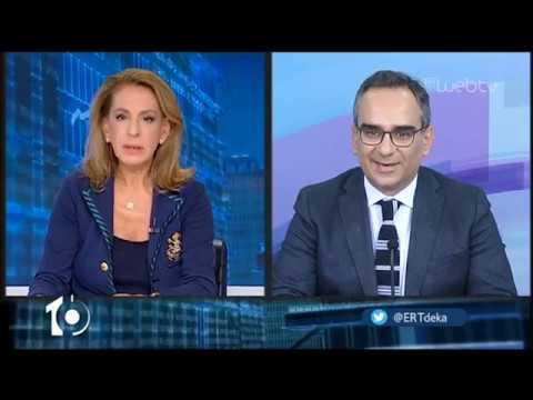 Ο υφυπουργός Υγείας Βασίλης Κοντοζαμάνης στο «10» | 20/11/2019 | ΕΡΤ