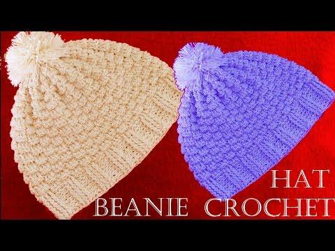 Como tejer gorro a Crochet - Beanie Crochet learn