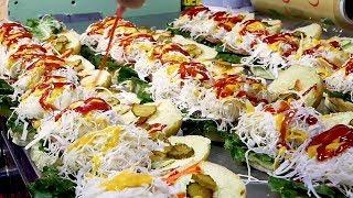 Video Traditional market Hamburger (Chlorella hamburger) - Korean Street Food MP3, 3GP, MP4, WEBM, AVI, FLV April 2019
