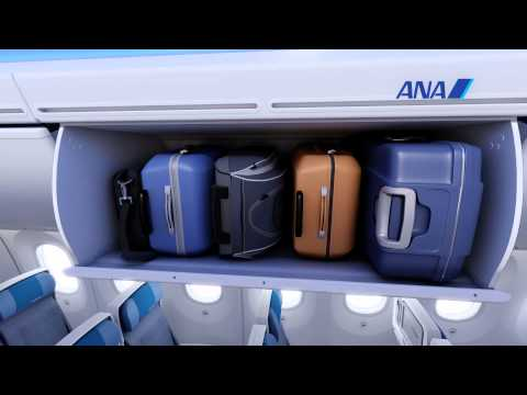 ANA unveils beautiful interior  of its Boeing 787 Dreamliner