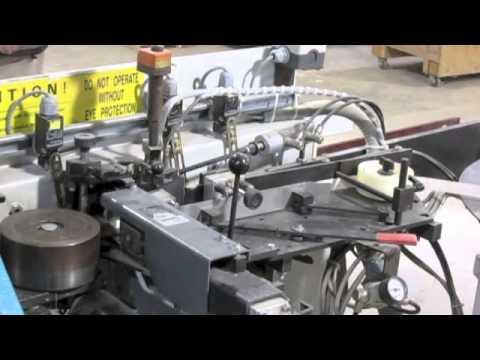 Holz-Her Model Genesis 1402 HF Edge Bander Video