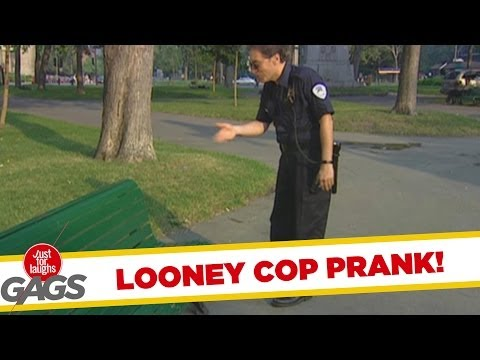 Looney Cop Prank!