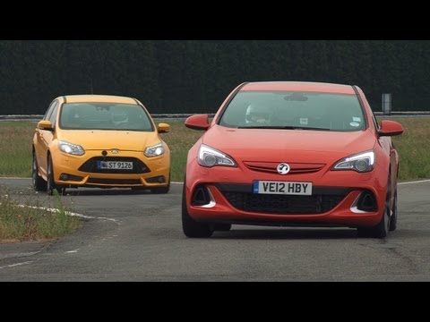 2012 Ford Focus ST vs Opel Astra OPC