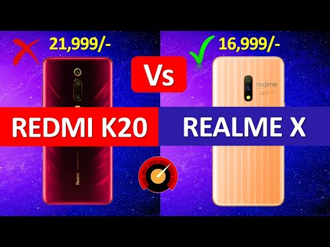 Redmi K20 Vs Realme X Indian Edition Full Comparison - Which is Better For You??