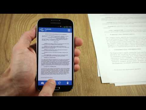 Video of Tiny Scan:PDF Document Scanner