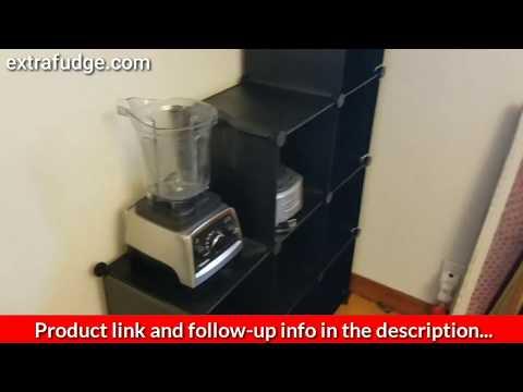 TomCare Cube Storage 9-Cube Closet Organizer Shelves Review