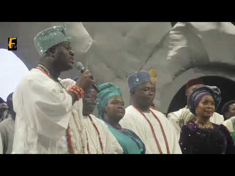 Ooni Of Ife Gives Speech At Moremi Of Egba Land Easter Fiesta