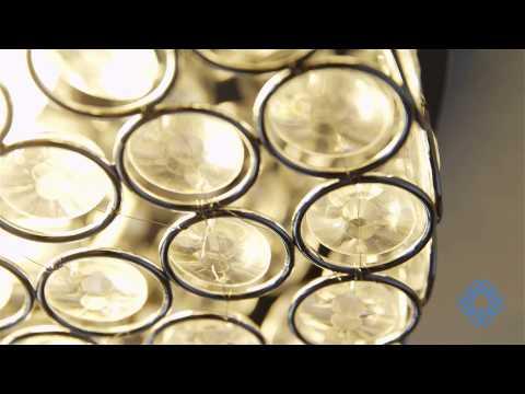 Video for Alice Chrome Two-Light Flush Mount