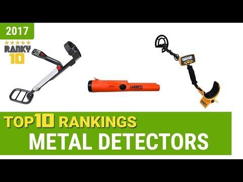 Metal Detectors Top 10 Rankings, Reviews 2017 & Buying Guides