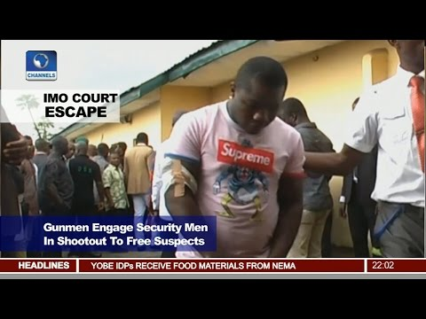 Suspected Criminal Gang Attacks Court In Imo, Sets Accused 'Vampire' Free