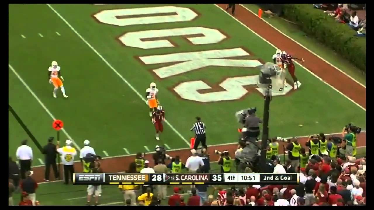 Ace Sanders vs LSU, Tennessee, Clemson, Michigan (2012)