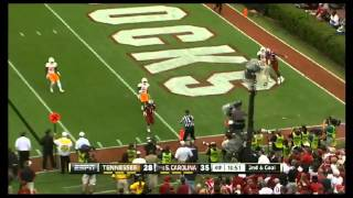 Ace Sanders vs LSU, Tennessee, Clemson, Michigan (