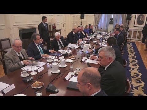 Video - Λοβέρδος μετά το ΕΣΕΠ: Αρραγές το εθνικό μέτωπο, δεν υπήρξαν διχοτομήσεις