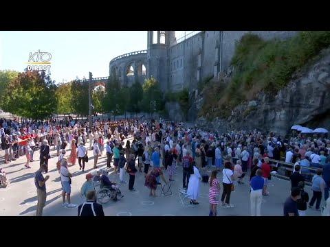 Messe du 13 septembre 2020 à Lourdes