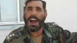 Afghan Soldier Learning English :))