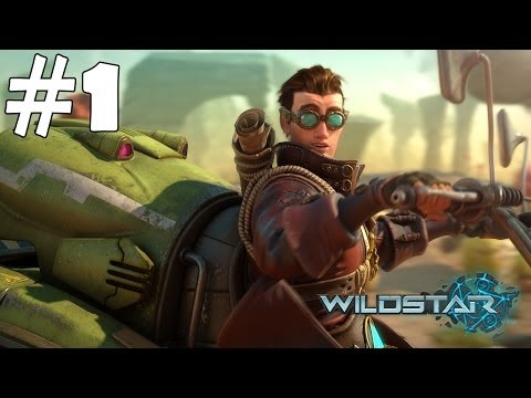 Wildstar Walkthrough Part 1 Gameplay Let's Play Playthrough Review 1080p HD
