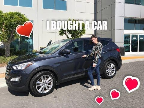 I BOUGHT A CAR + CAR TOUR!!