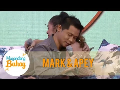 Apey and Mark are happy and proud of each other | Magandang Buhay