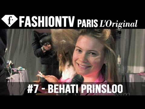 Barbara Fialho - Victoria's Secret Fashion Show 2012 2013 Backstage ft Behati Prinsloo & Cara Delevingne http://www.FashionTV.com/videos NEW YORK - Backstage at the 2012 Vict...