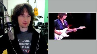 British guitarist reacts to Jeff Beck's unique style and sound