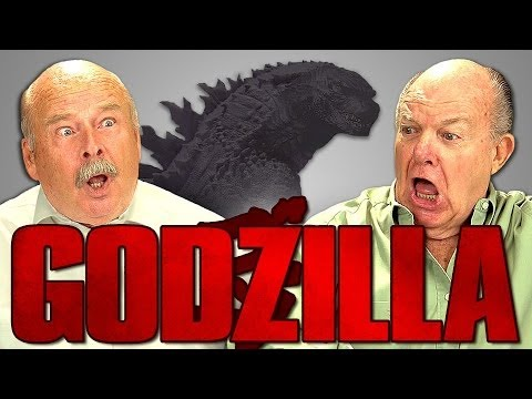 ELDERS REACT TO GODZILLA