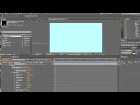 image animation in adobe after effects
