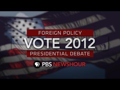 The Complete Final Presidential Debate between Barack Obama and Mitt Romney