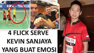 Video Kompilasi 4 Flick Serve Kevin Sanjaya Yang Membuat Lawan Marah MP3, 3GP, MP4, WEBM, AVI, FLV Maret 2019