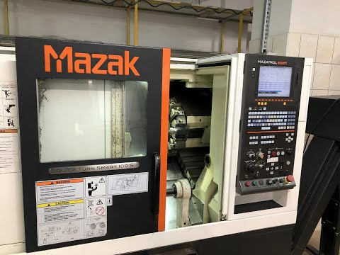 Tokarka CNC MAZAK QUICK TURN SMART QT 100 S 2014