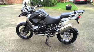 6. BMW R1200GS Triple Black, 2012
