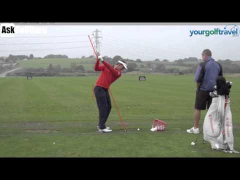Joost Luiten Golf Swing Lesson