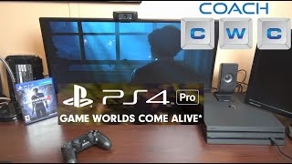 Sony PS4 Pro Unboxing and Gameplay