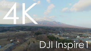 4K空撮 / 八ヶ岳と小海線