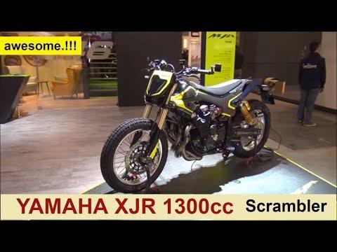 Yamaha XJR 1300cc Scrambler (VR46)