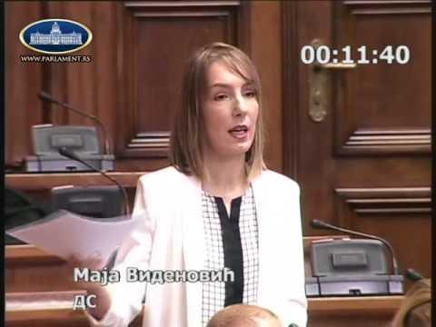 Маја Виденовић о избору Заштитника грађана, 19.07.2017.