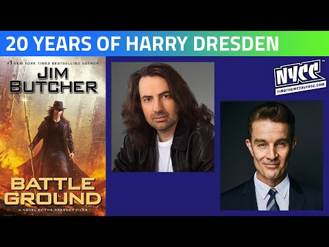 The Dresden Files with Jim Butcher and James Marsters | Twenty Years of Harry Dresden