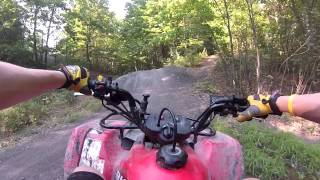 3. Suzuki Ozark 250 (Chest Mount Test)