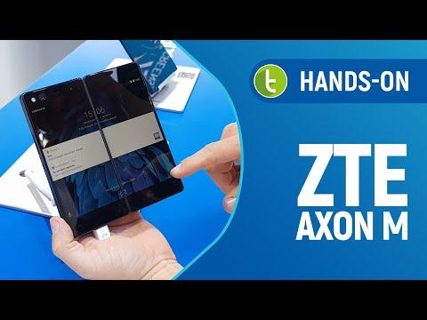 Tudocelular - ZTE Axon M mostra que inovar não é tão fácil quanto parece #MWC18