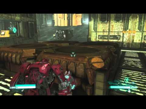 Transformers Fall of Cybertron Campaign Gameplay Part 9 - Sneaky Sneaky Time (видео)