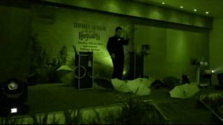 Mister Gandhi Magic Show at Gathering Harris Hotel Kelapa Gading