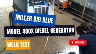 Download Lagu Miller Big Blue 400 X Diesel Welding Generator For Sale at Westermans International Mp3