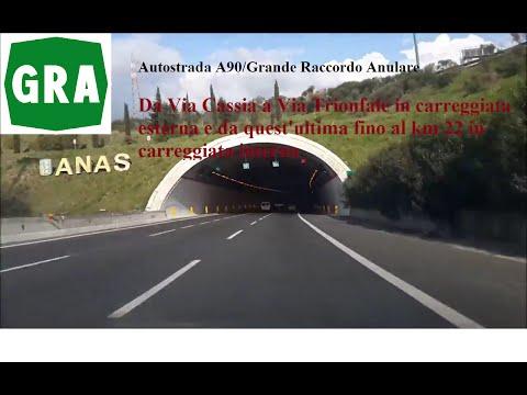 Grande Raccordo Anulare di Roma/A90, tratto Via Cassia-Via Trionfale-km 22