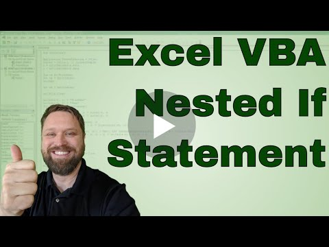 how to create an if then statement in excel
