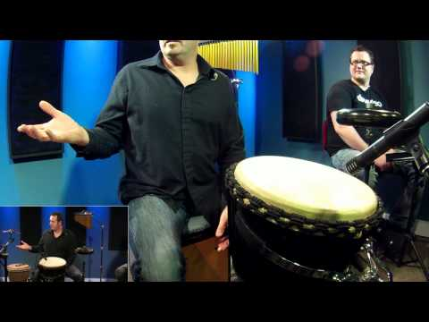 Hand Drumming Djembe/Cajon – Free Drum Lessons