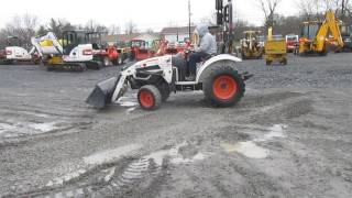 9. 2010 Bobcat CT230 4x4 Compact Tractor w/ Loader!