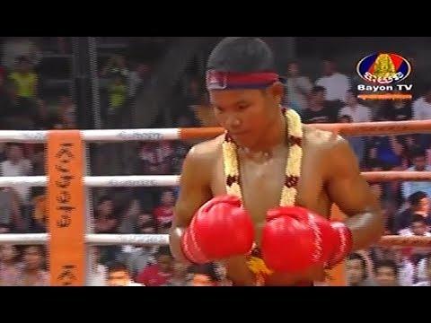Sok Thy(kaka) vs Thanuphet(laos), Khmer Boxing Bayon 16 Feb 2018, Kun Khmer vs Muay Thai