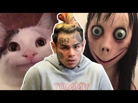 Tekashi 6ix9ine Saved By Polite Cat [MEME REVIEW] 👏 👏#28