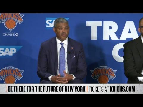 New York Knicks Preseason Press Conference