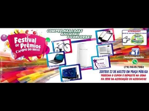 Campanha Festival de Prêmios Campo do Brito 2015