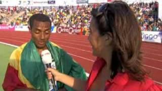 FBK-Games 2008: Kenenisa Bekele.